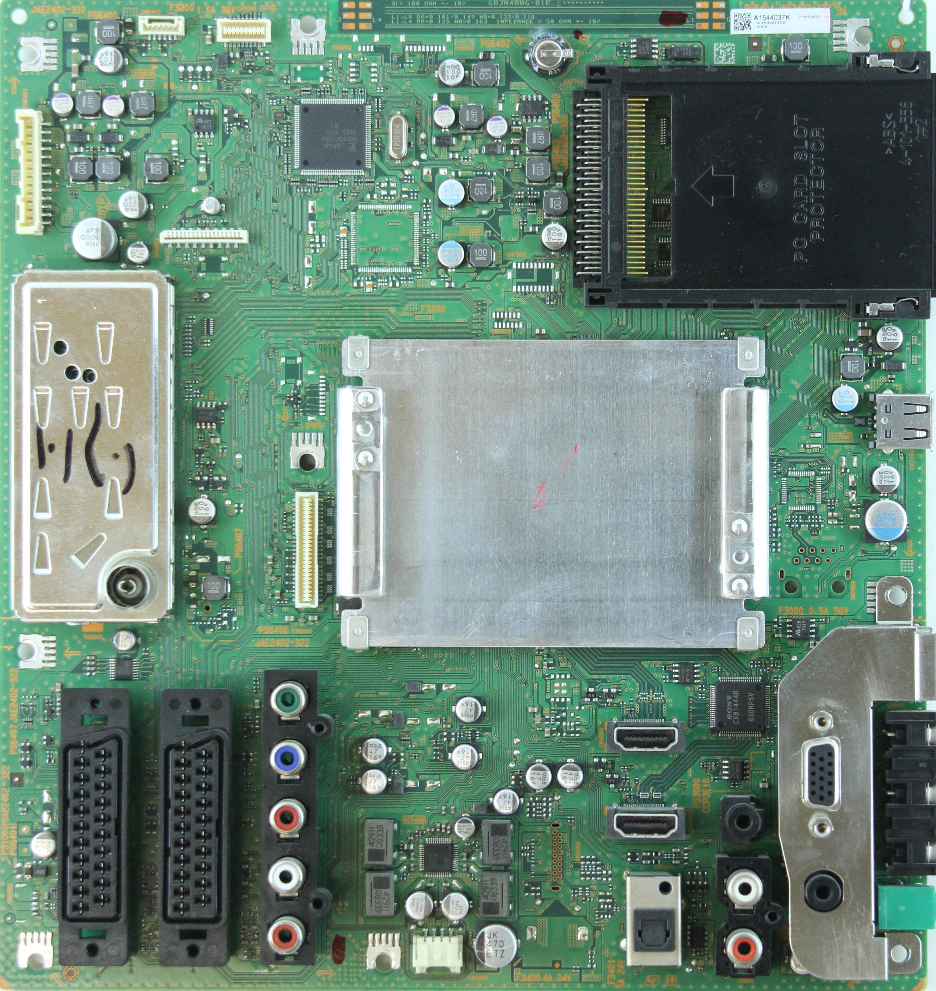 инструкция по настройке телевизора sony kdl 32v4500 с модулем