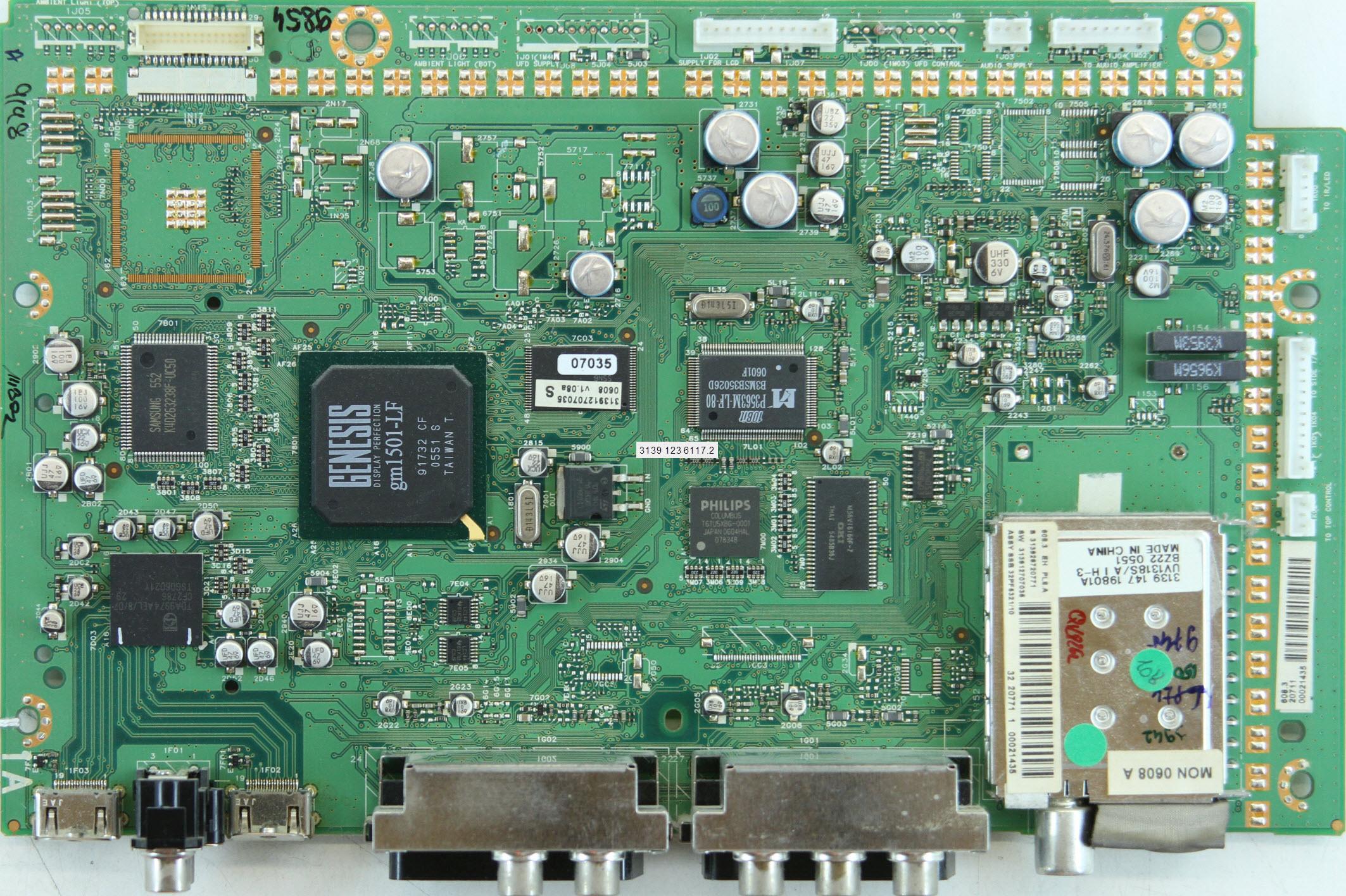 37pfl9603d/10 схема