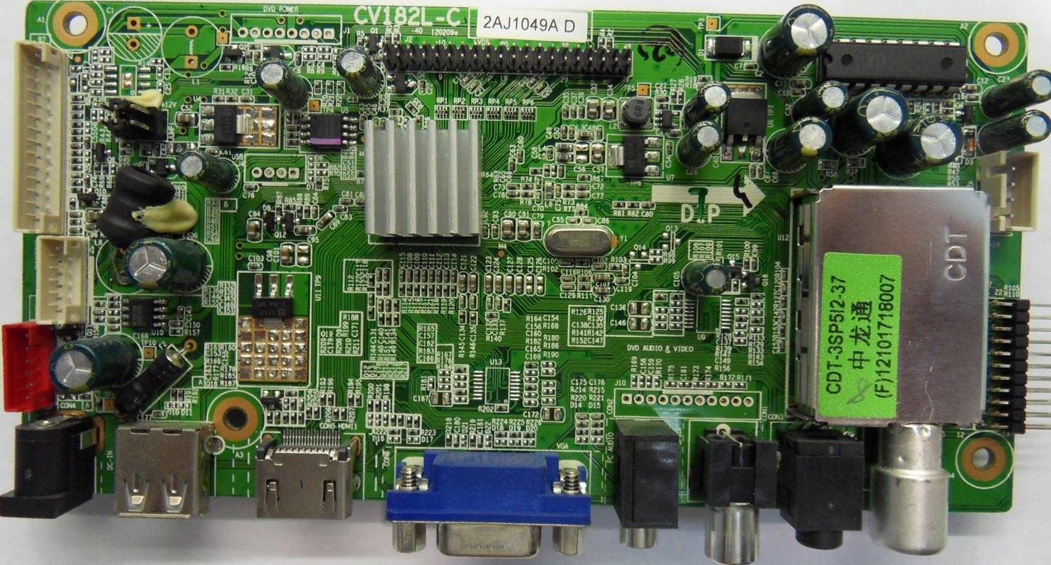 Схема hyundai h-tv1415
