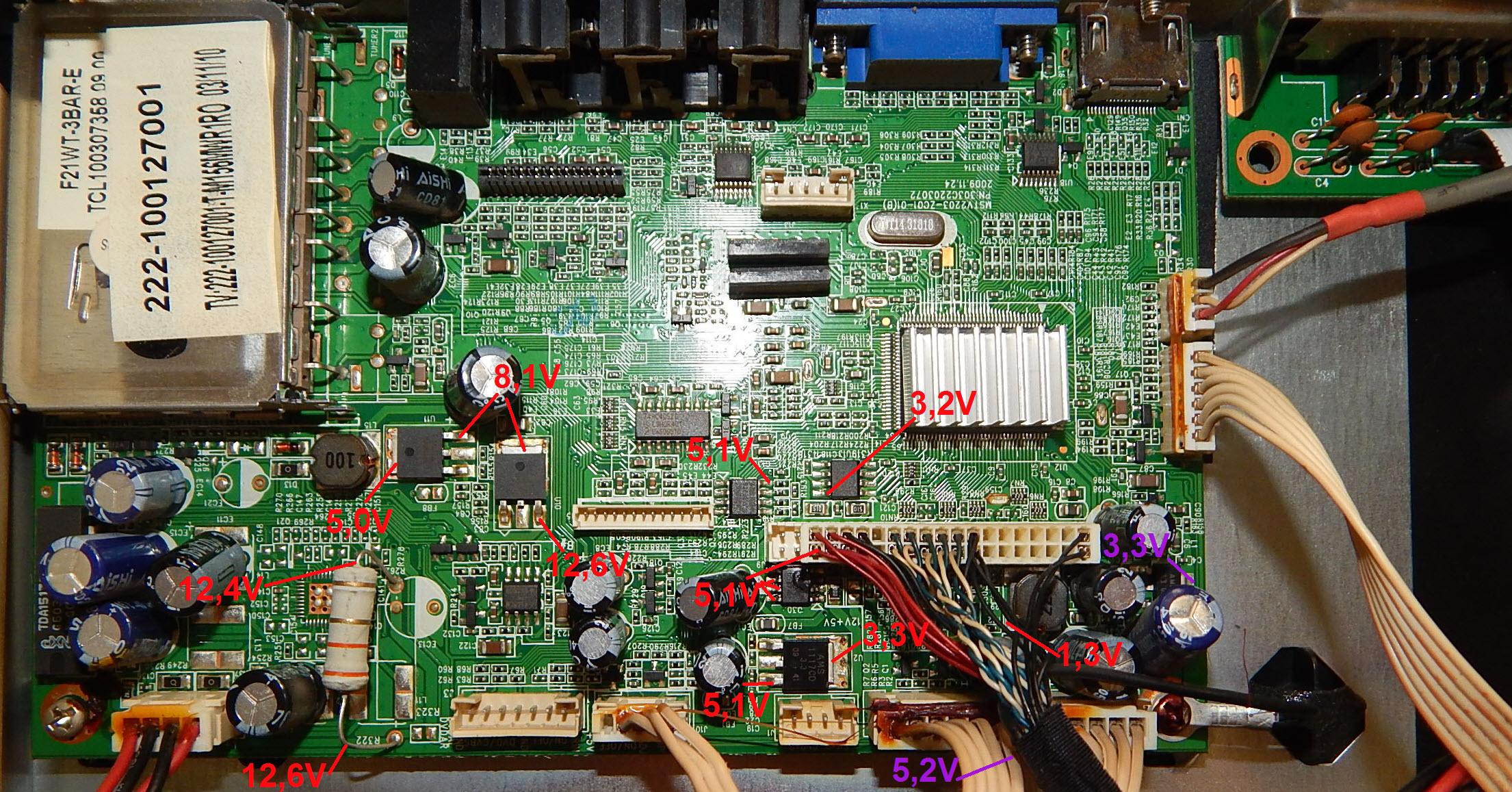 Схема tv1901-zc02-01 и