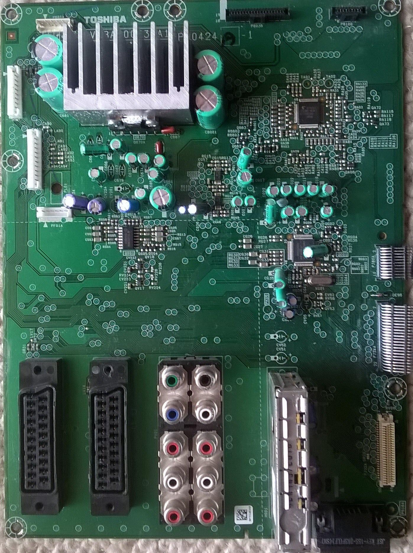 Toshiba 32c3006pr 17pw26 4 Circuit Diagram Pe0424