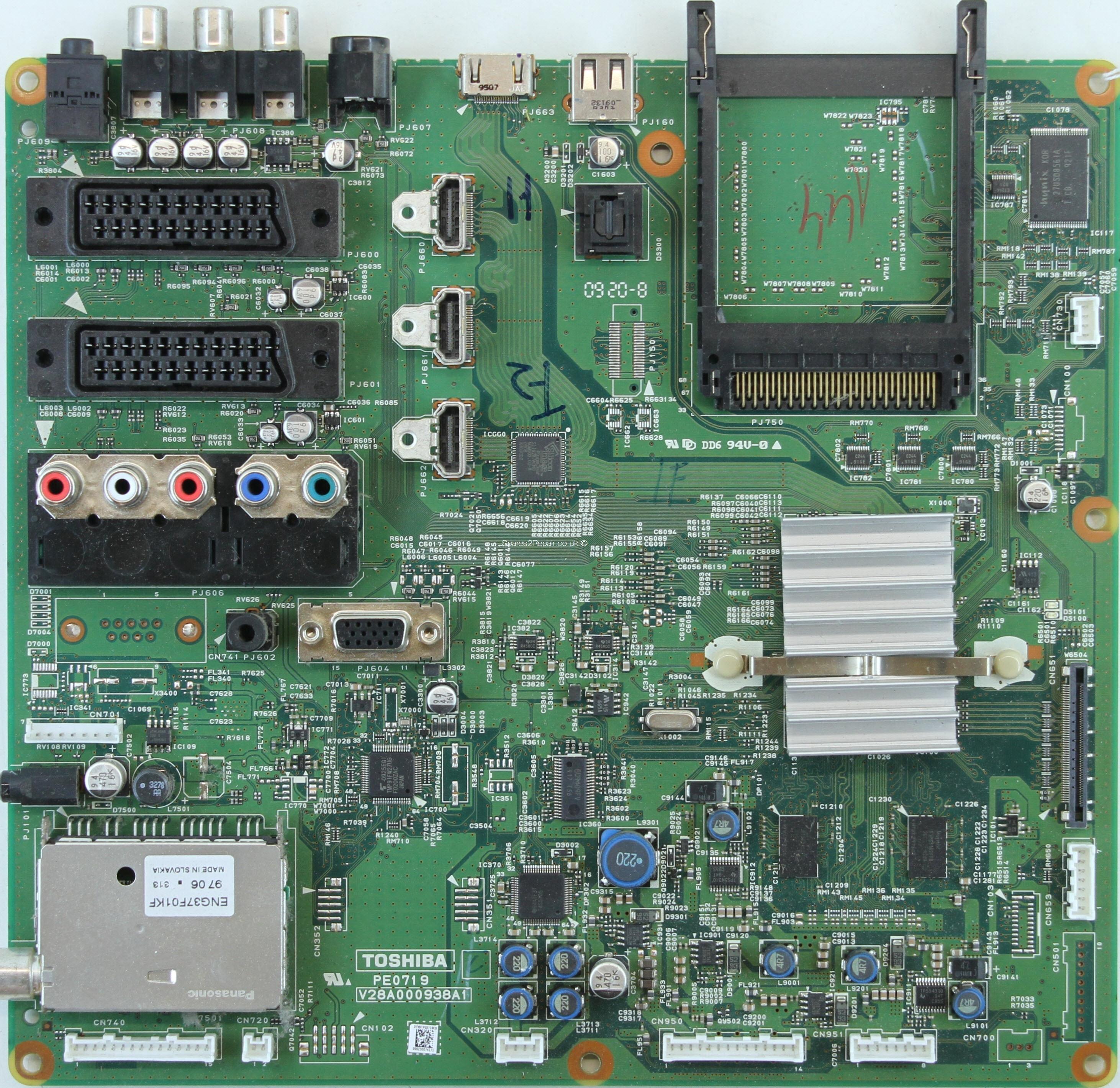 Toshiba 15sldt2 схема