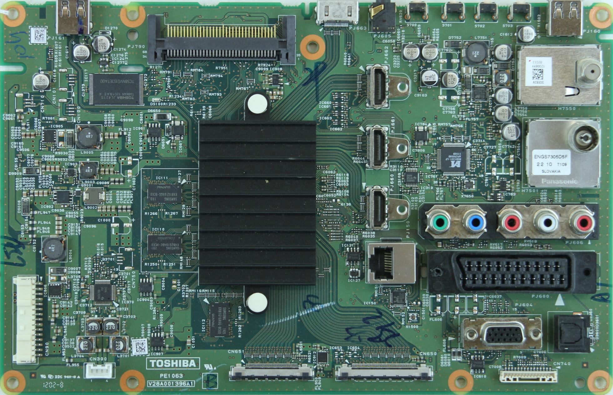 Toshiba 32av933 схема