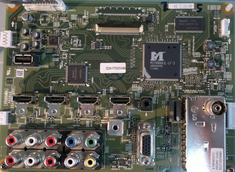 Toshiba 40av700v 17pw26 4 Circuit Diagram V28a00112301