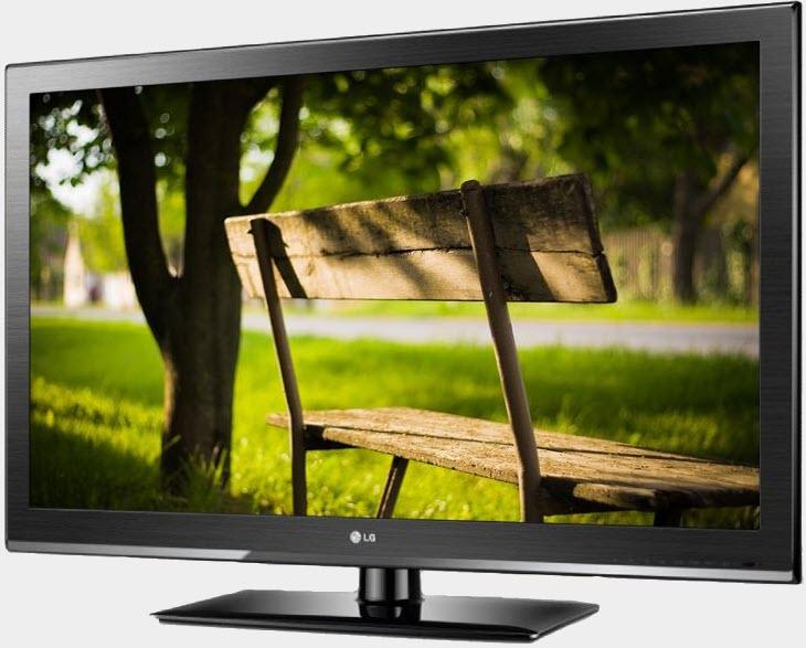 Телевизор LG, выполненный на