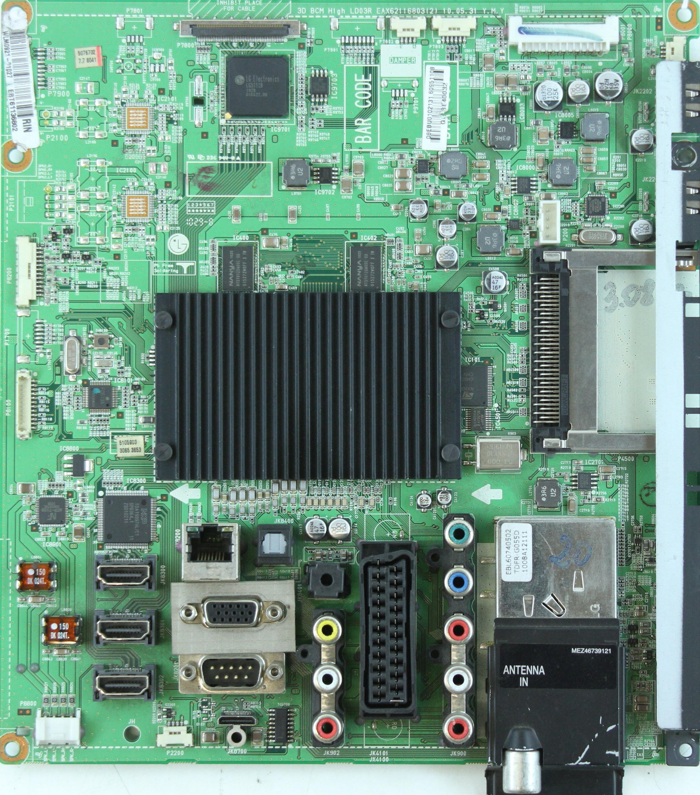 LG 42LX6500  Ремонт, схема, сервис