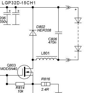 Repair LGP32D-15CH1