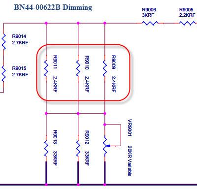 BN44-00622B DIMMING