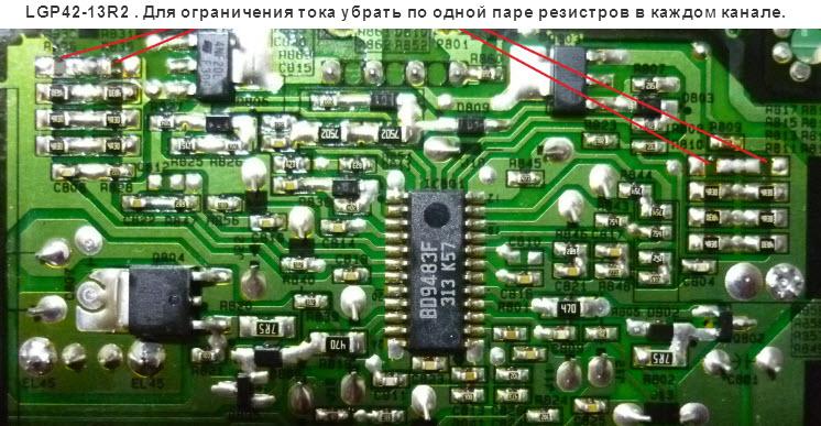 Repair LG Led-Driver BD9483F